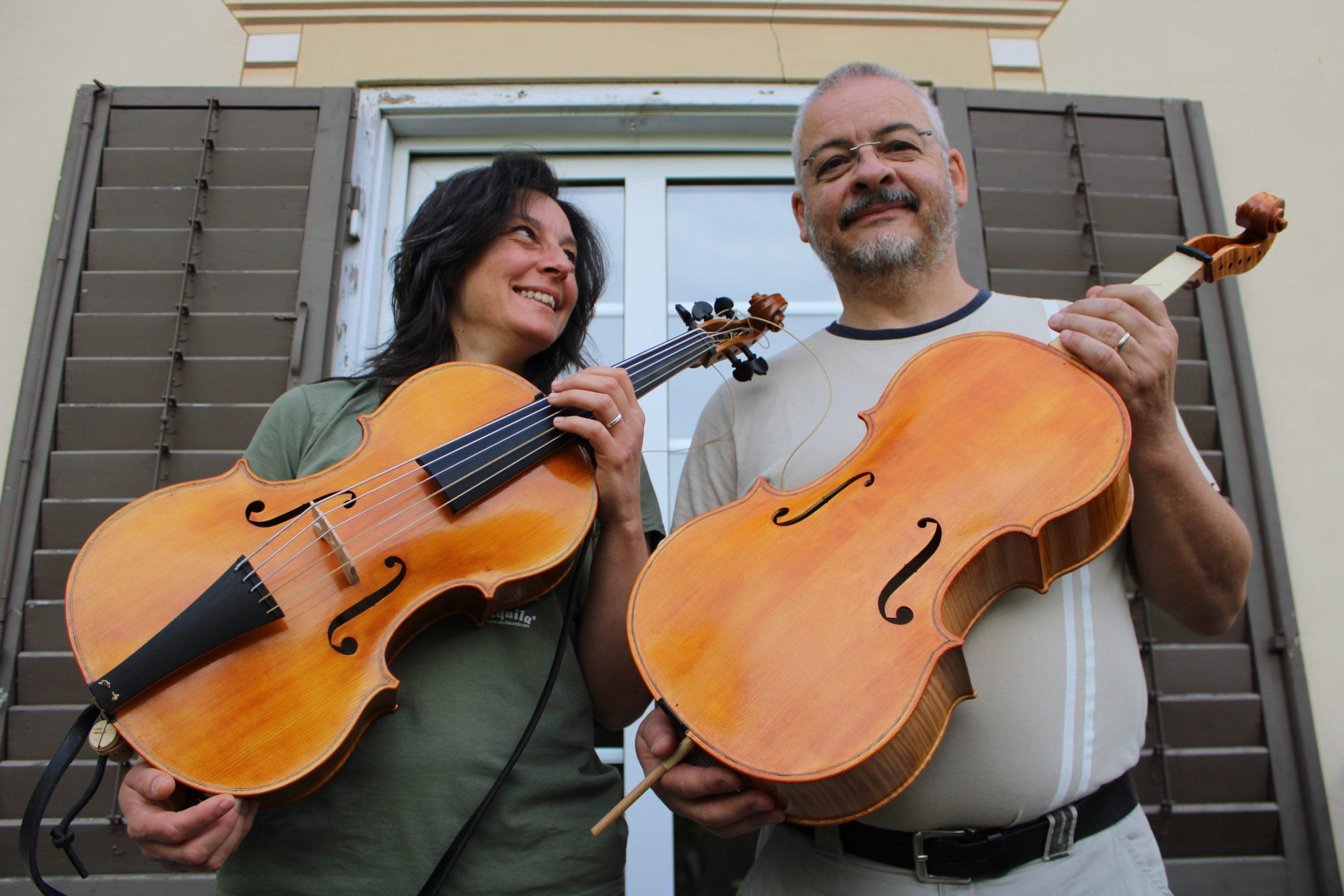 Visintini Gaidano violoncello da spalla makers Italy