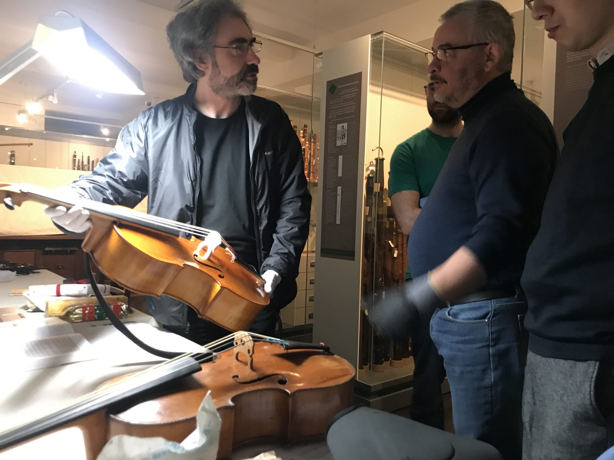 Alessandro visintini e Veith Heller museo grassi lipsia