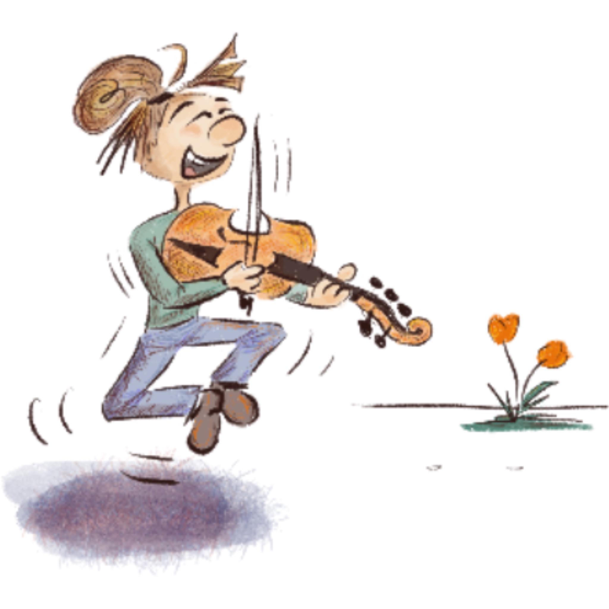 Suonare il violoncello da spalla con gioia visintini gaidano
