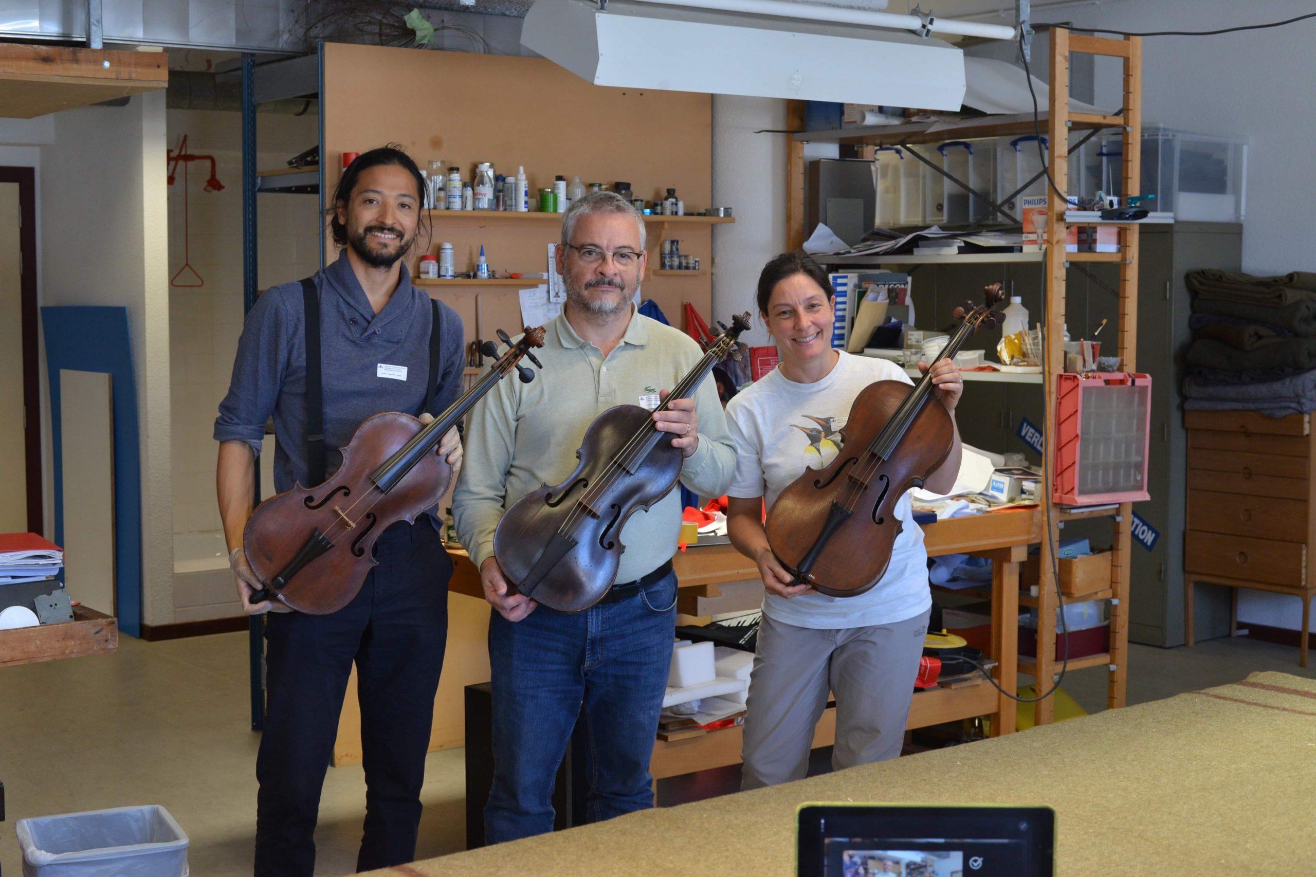 violoncello piccolo cinque corde Hoffmann Bruxelles visintini gaidano