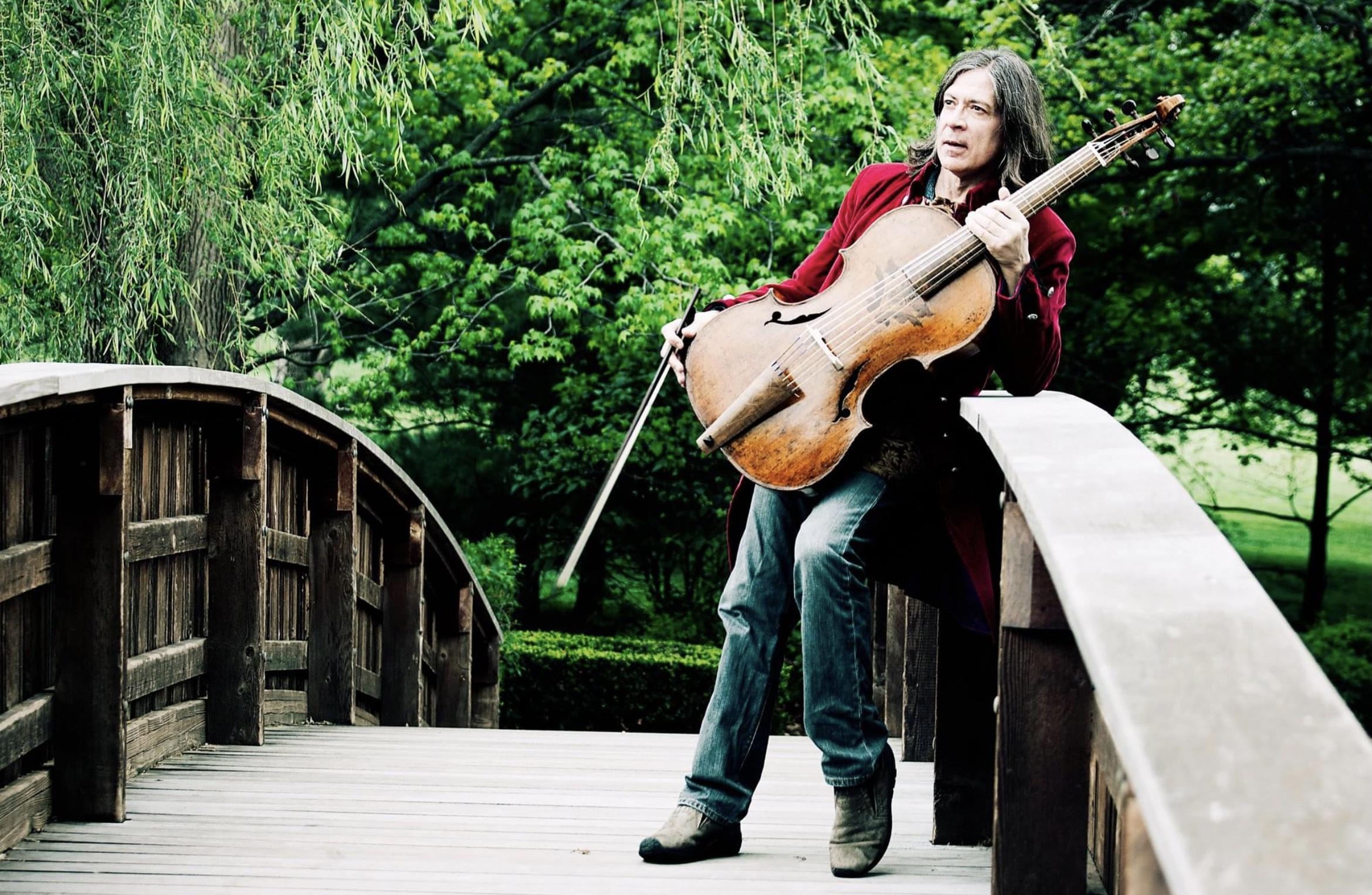 gerald Trimble con violoncello Barak Norman
