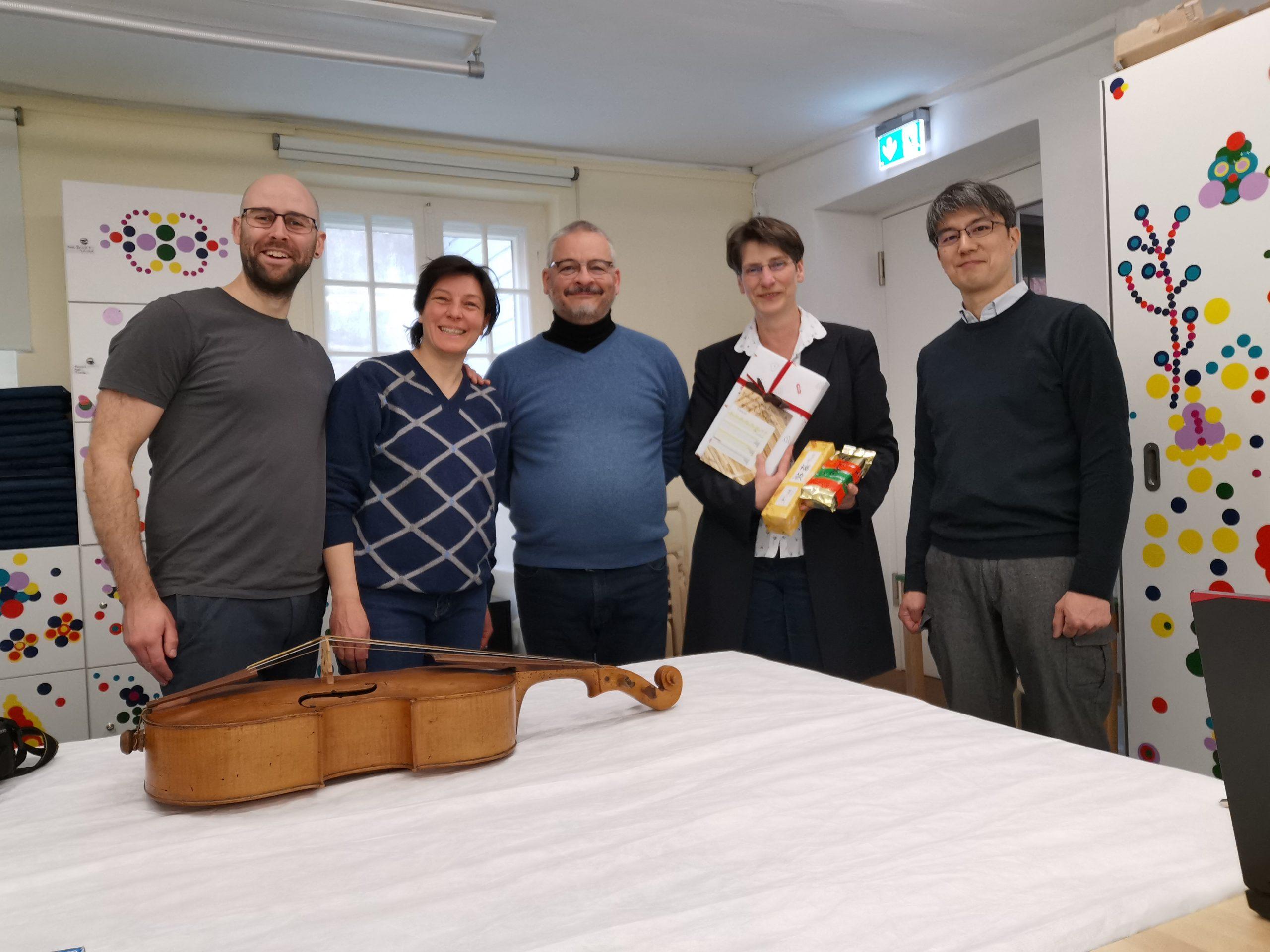 Vioooncello piccolo Wagner Borstendorf visintini Gaidano Lubecca