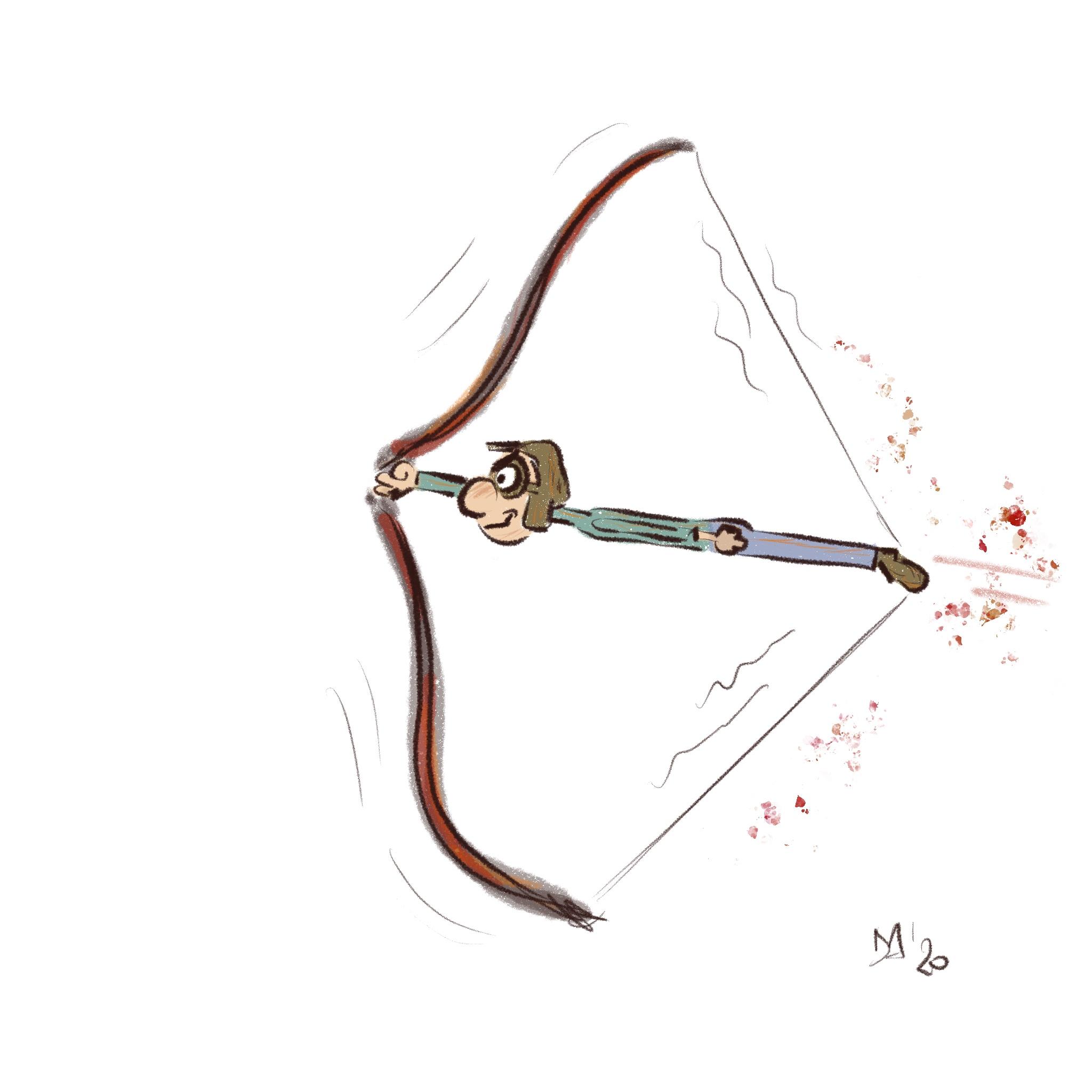caricatura Daniela Gaidano
