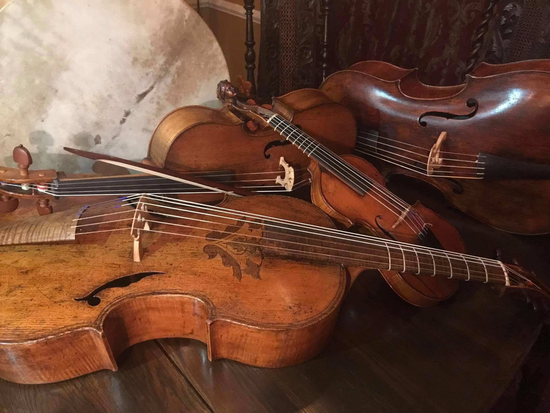 mark wickersham and Gerald Trimble violoncello da spalla