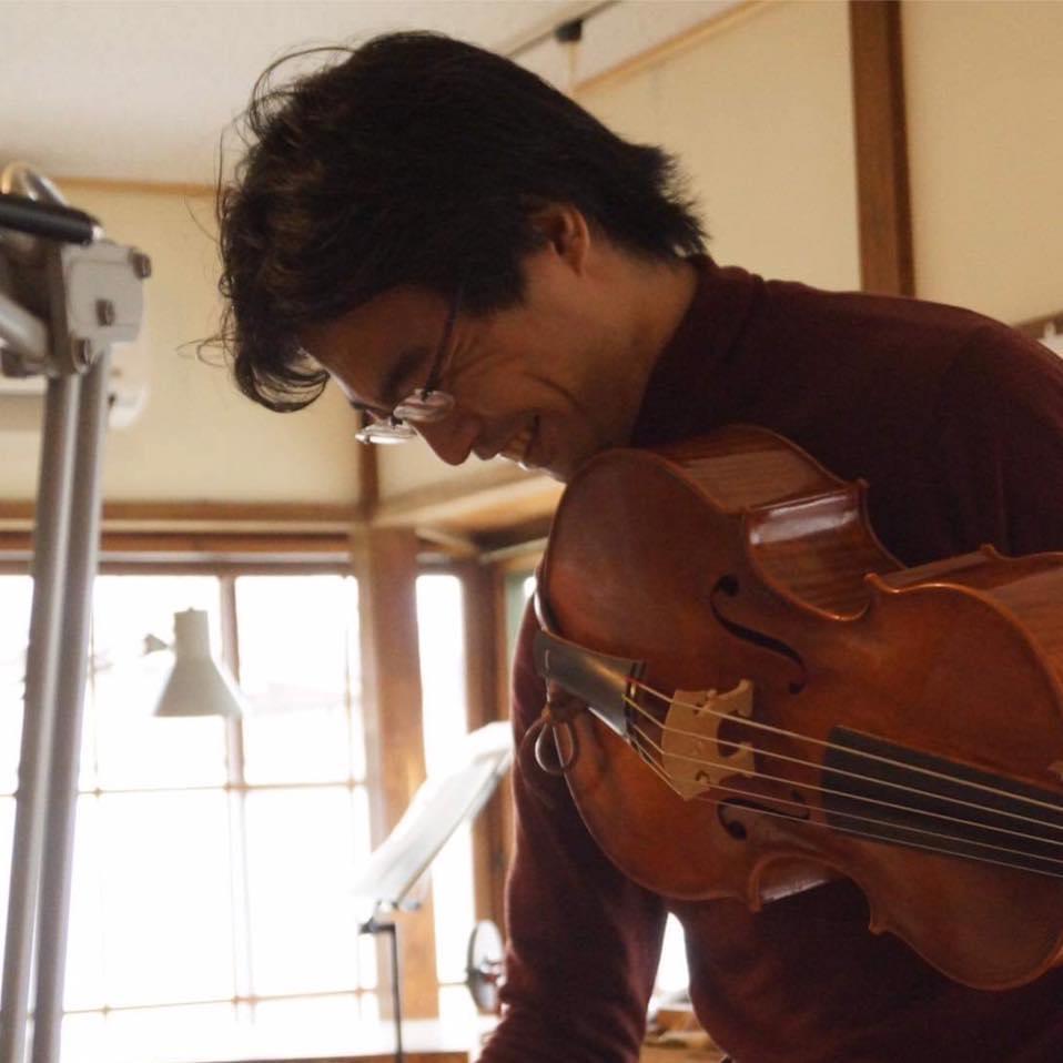 Kaga Yutaka violoncello da spalla