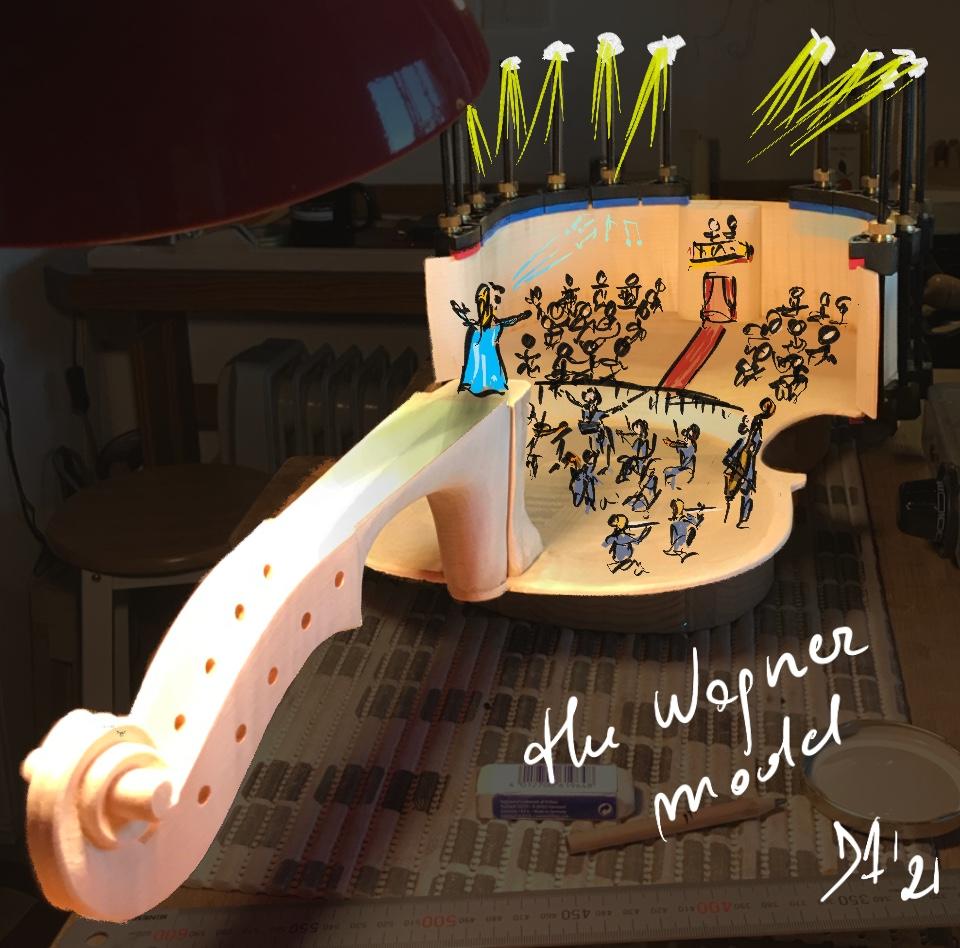 tatto antico e violoncello da spalla