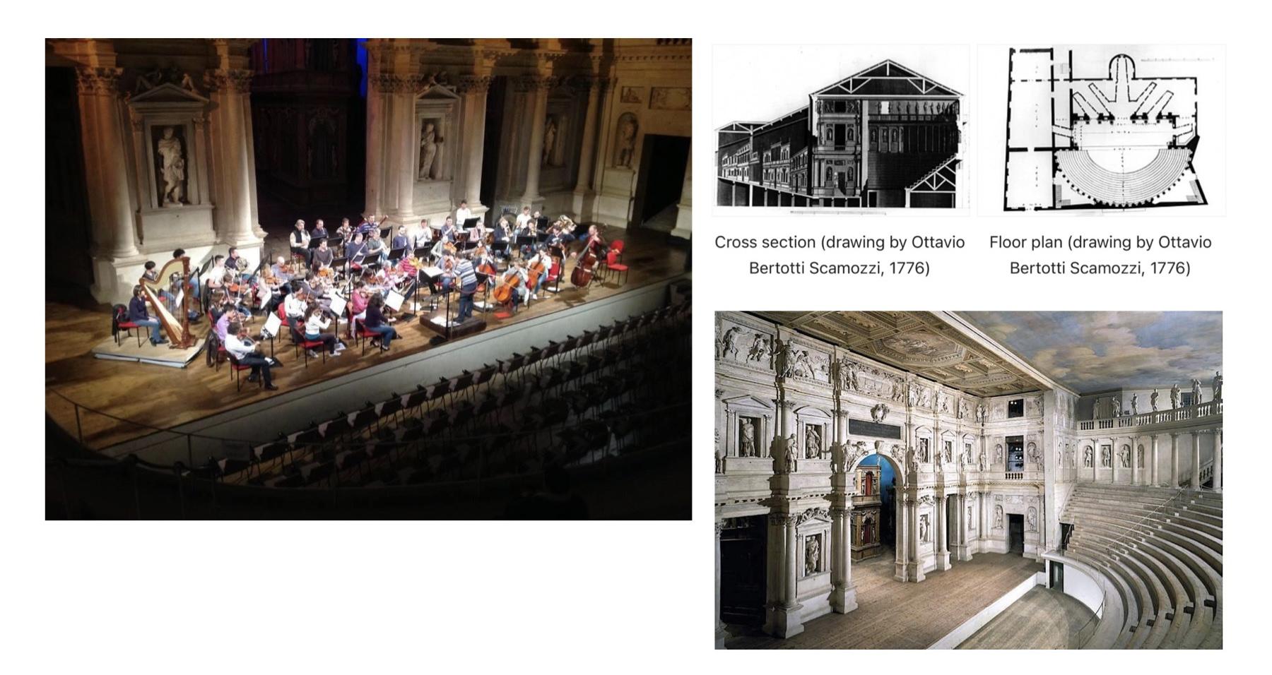 teatro olimpico di Vicenza proporzioni armoniche