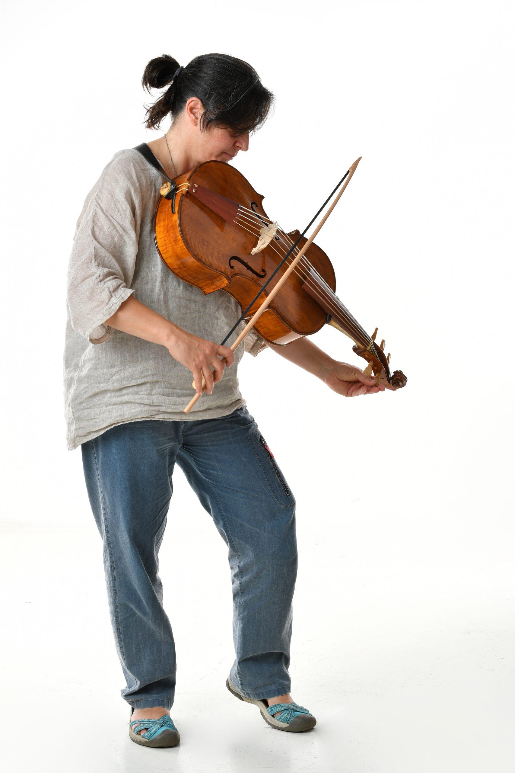 Daniela Gaidano violoncello da spalla