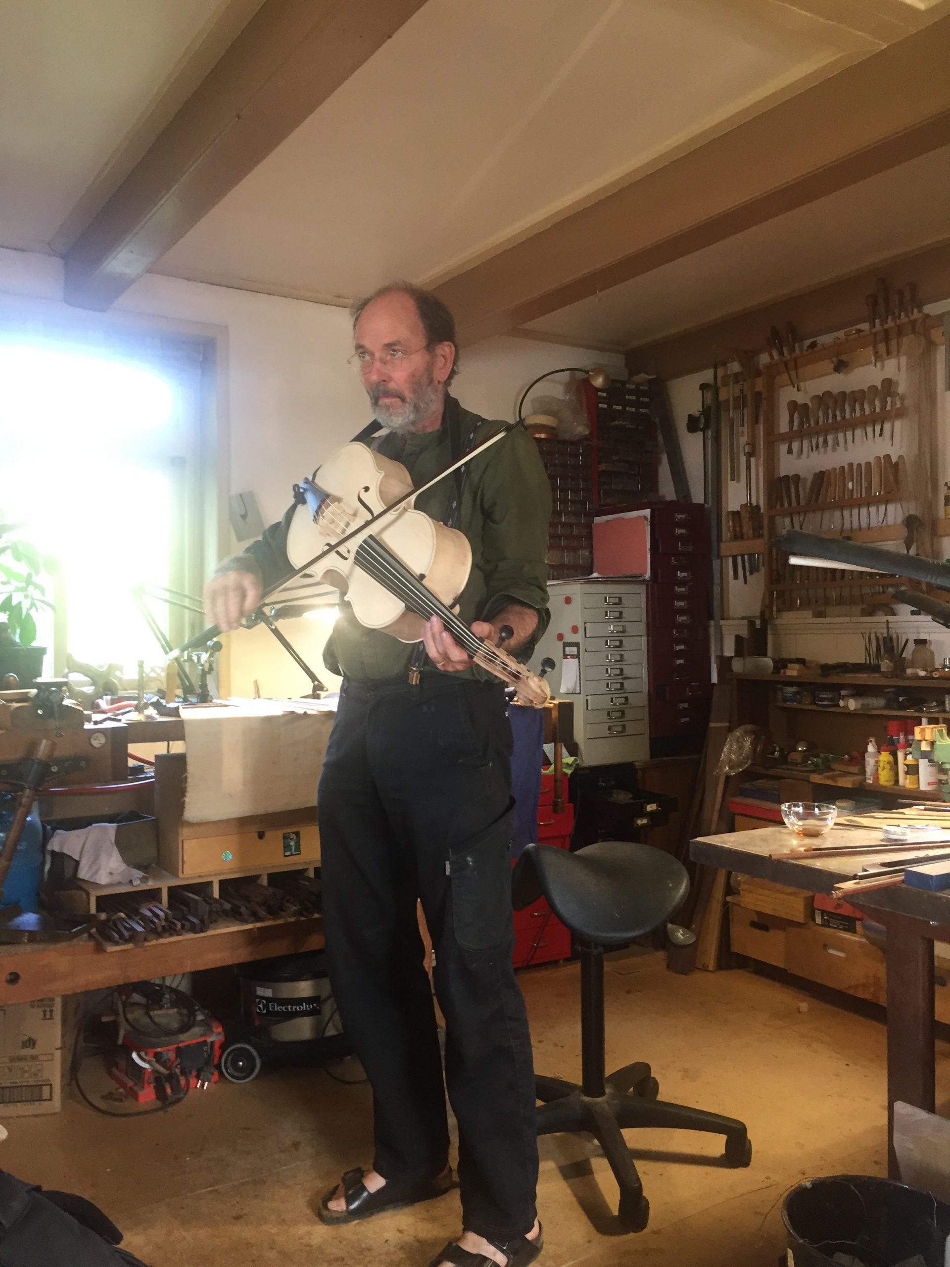 Gerhard Landwehr violoncello da spalla visintini gaidano